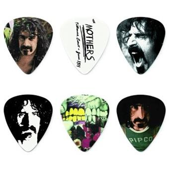 Dunlop Frank Zappa Blue Pick Tin 6-Pack plectre signature