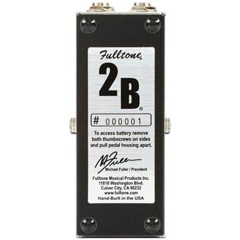 Fulltone 2B Booster pédale compression/boost/dynamics