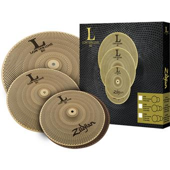 Zildjian L80 Low Volume 348 Box Set cymbalenset