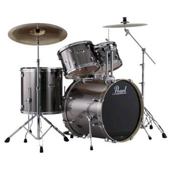 Pearl EXX725FBR/C21 Smokey Chrome starter drum kit