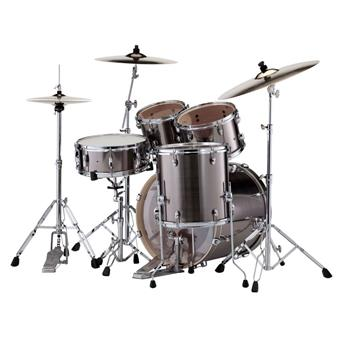 Pearl EXX725SBR/C21 Export Smokey Chrome starter drum kit