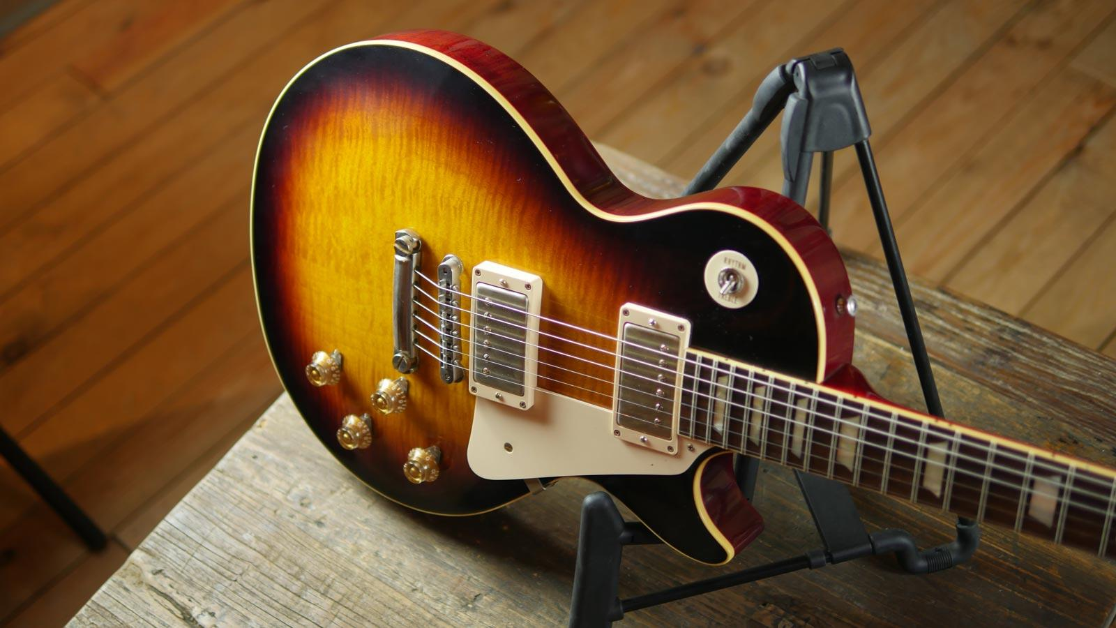 Gibson Custom Shop 1959 Les Paul Reissue Vos Faded Tobacco Keymusic Guitar Tone Capacitors Also Wiring Further Guitare Lectrique