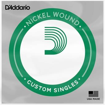 D'Addario NW017 - XL Nickel Wound Single String losse snaar voor elektrische gitaar
