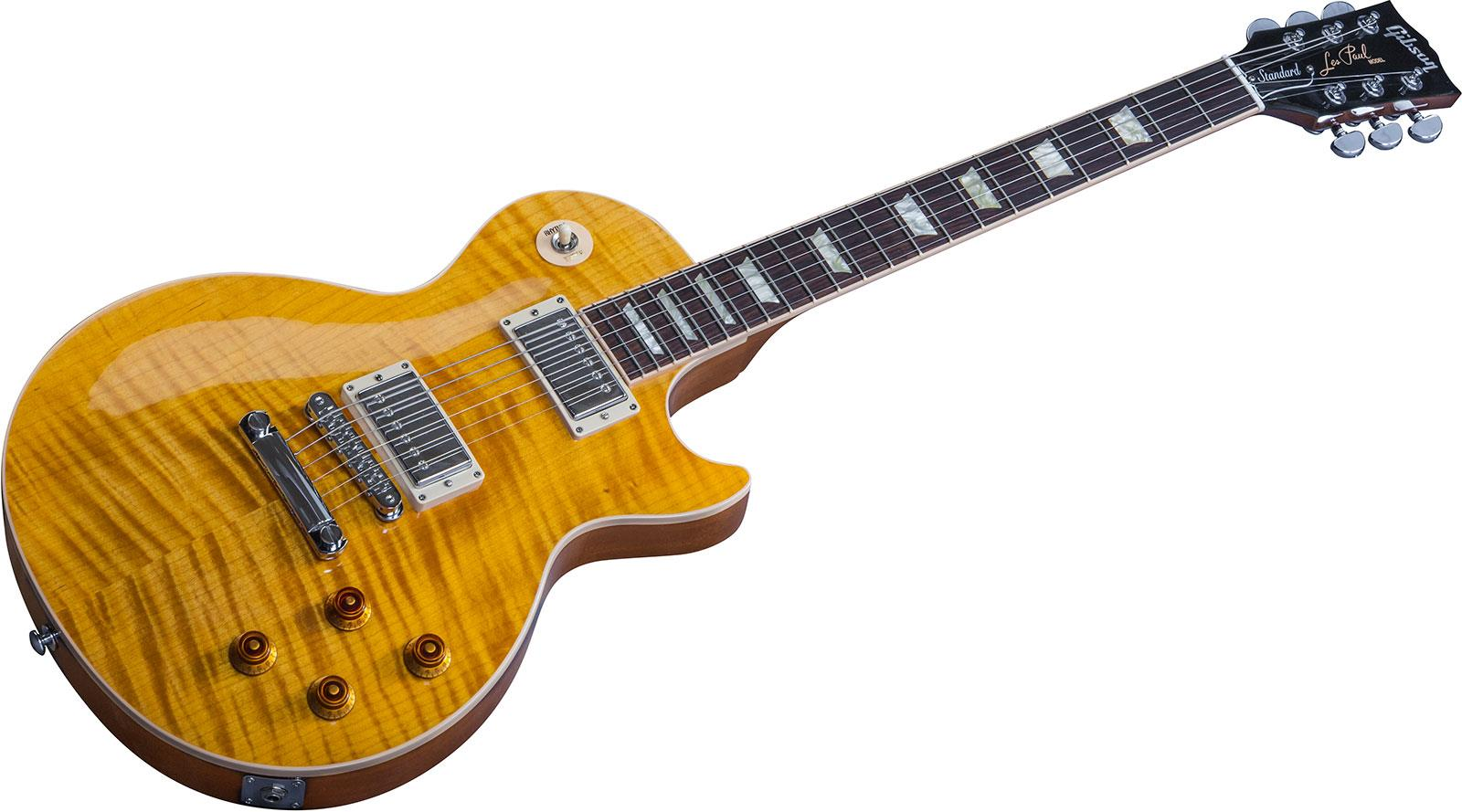 gibson les paul standard 2016 t translucent amber keymusic. Black Bedroom Furniture Sets. Home Design Ideas