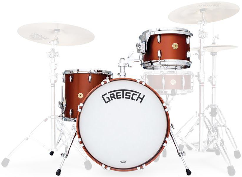 Image of Gretsch Drums Broadkaster BK-J403 Satin Copper Lacquer 19239468802