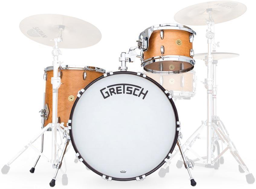Image of Gretsch Drums Broadkaster BK-RC423V Satin Classic Maple