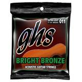 GHS BB20X Extra Light Bright Bronze Acoustic Guitar Strings