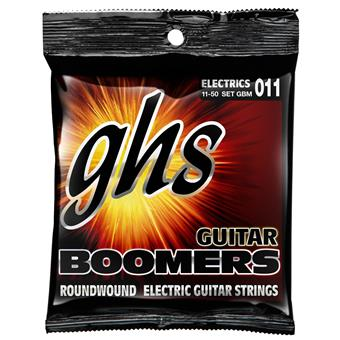 GHS GBM Medium Boomers Electric Guitar Strings 011 electric guitar string set