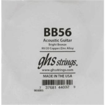 GHS BB56 single string for acoustic guitar