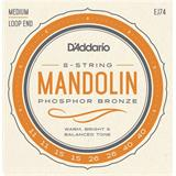 D'Addario EJ74 Mandolin Strings Phosphor Bronze Medium 11-40