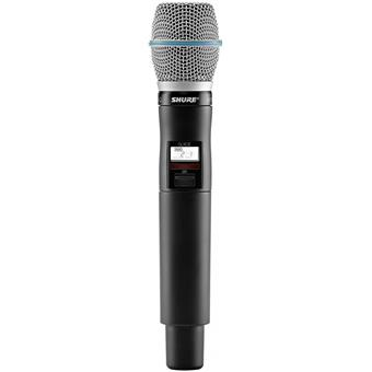Shure QLXD24/B87A K51 NL wireless handheld microphone