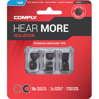 Comply T-400 Medium Black système ear monitor