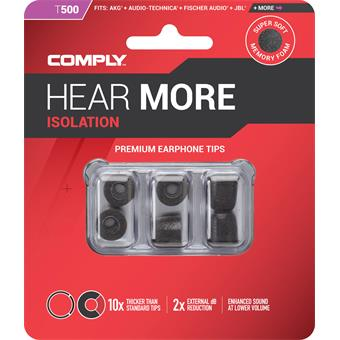 Comply T-500 Small Black système ear monitor