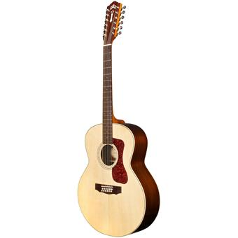 Guild F-1512E Natural Gloss guitare acoustique 12 cordes