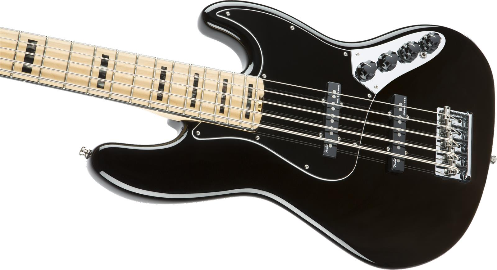 American Elite Jazz Bass : fender american elite jazz bass v mn black keymusic ~ Vivirlamusica.com Haus und Dekorationen