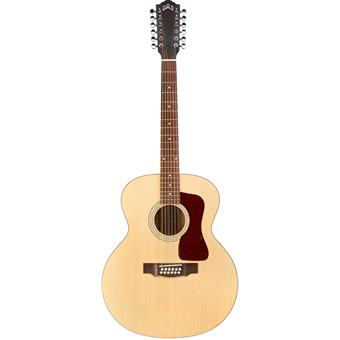 Guild F-2512E Maple Westerly Archback Natural Akustikgitarre 12-Saitig