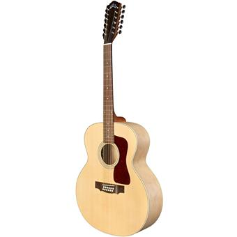 Guild F-2512E Maple Westerly Archback Natural 12-snarige akoestische gitaar