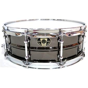 Ludwig LW5514C Black Magic Chrome caisse claire en acier