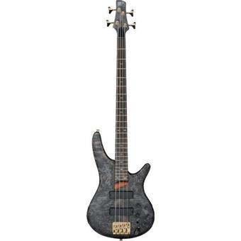 Ibanez SR800 Black Ice Flat 4 string bass guitar