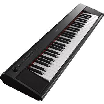 Yamaha NP-12 Piaggero Black home keyboard