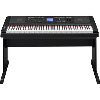 Yamaha DGX-660 Black digital arranger piano