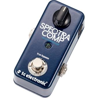 TC Electronic SpectraComp Bass Compressor basse pédale compression/boost/dynamics