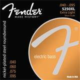 Fender 5250XL Nickel-Plated Steel Short Scale Bass Extra Light 40-95