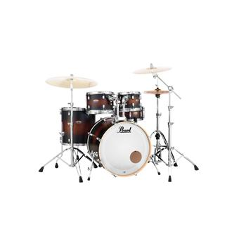 Pearl DMP925F/C260 Decade Maple Series Satin Brown Burst fusion drum kit