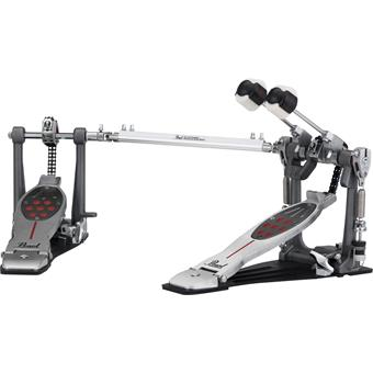 Pearl P-2052C Eliminator Red Line Double Pedal Chain Drive bass drum pedal