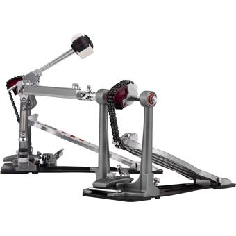Pearl P-2052C Eliminator Red Line Double Pedal Chain Drive drumpedaal