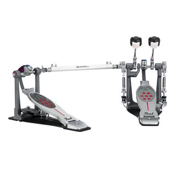 Pearl P-2052B Eliminator Red Line Double Pedal Belt Drive drumpedaal