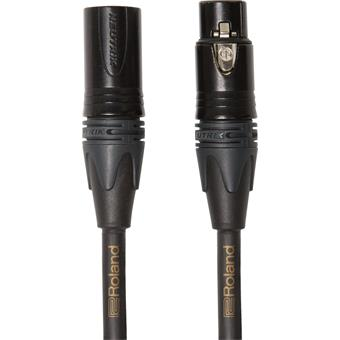 Roland RMC-G10 MICROPHONE CABLE - 3 m - GOLD SERIES microfoonkabel