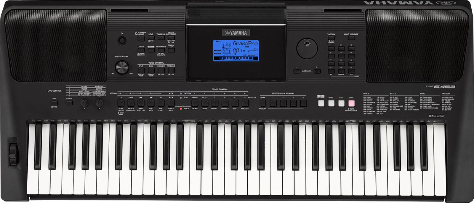yamaha psr e453 keymusic. Black Bedroom Furniture Sets. Home Design Ideas