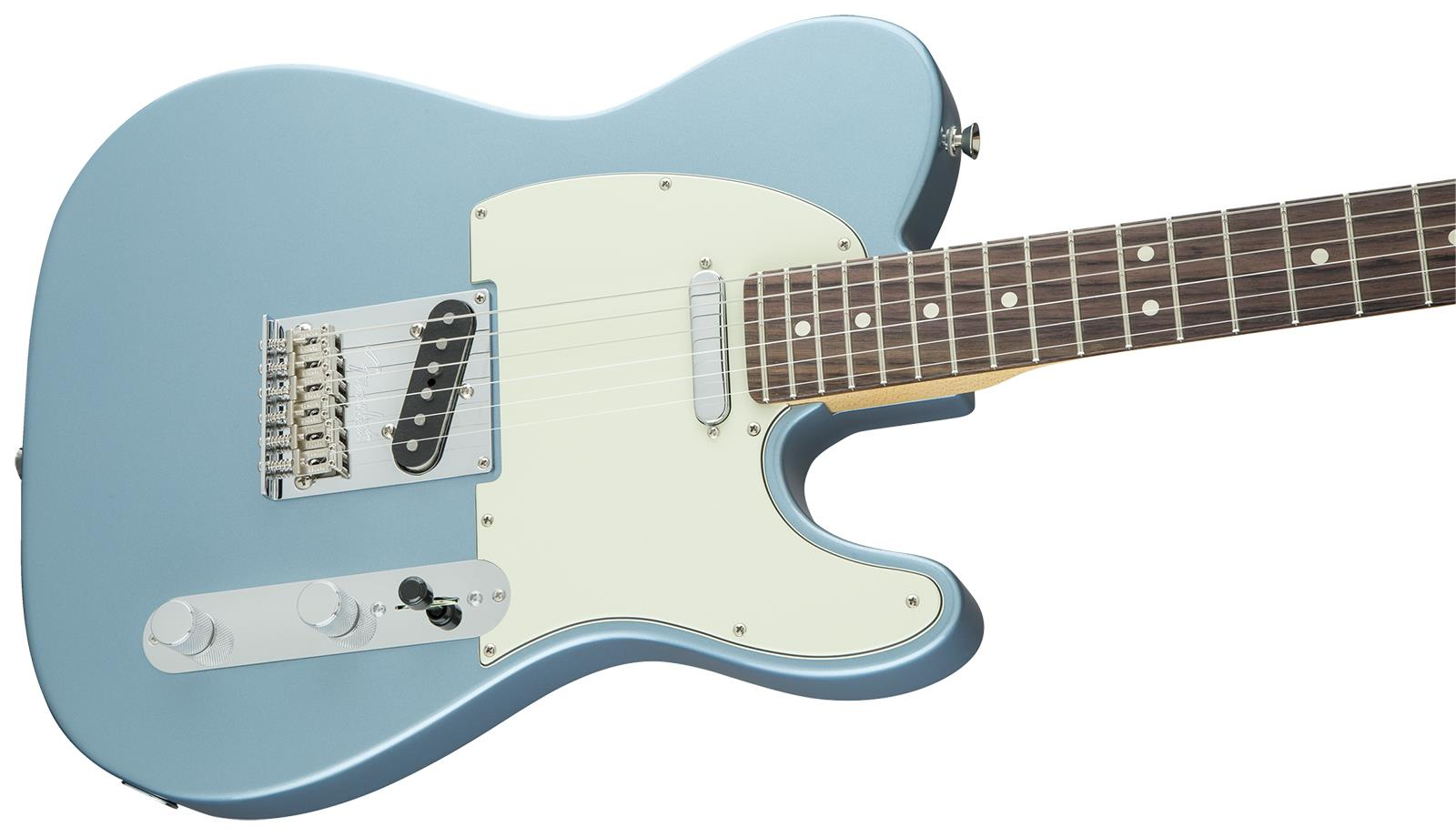 Fender limited edition american standard telecaster ice blue fender limited edition american standard telecaster ice blue metallic electric guitar publicscrutiny Gallery
