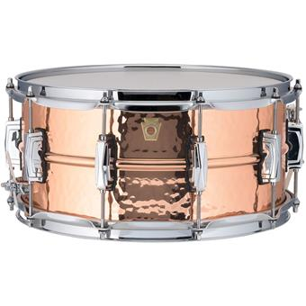 Ludwig LC662K Copper Phonic Messing Snaredrum