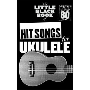 Hal Leonard Little Black Book For Ukulele | Hit Songs guitar/bass song book