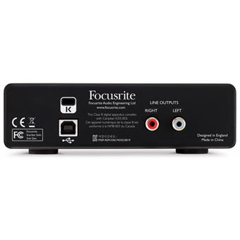 Focusrite Scarlett2 Solo USB audio interface