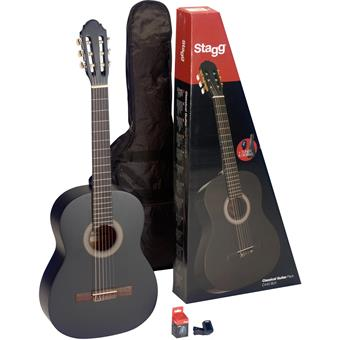 Stagg C440 M Black Pack classical guitar pack