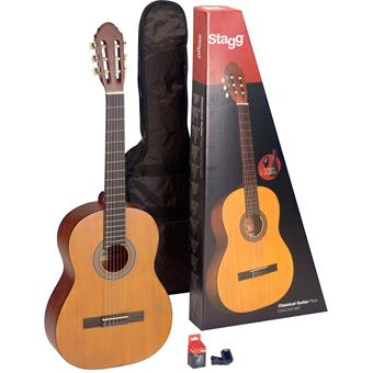 Stagg C430 M Natural Pack classical guitar pack