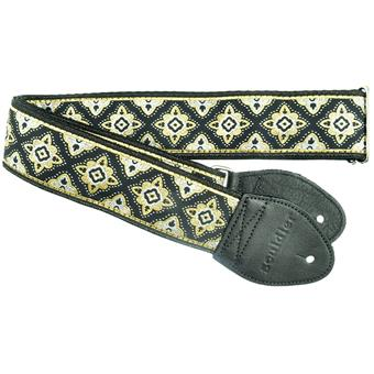 Souldier Regal Black guitar strap
