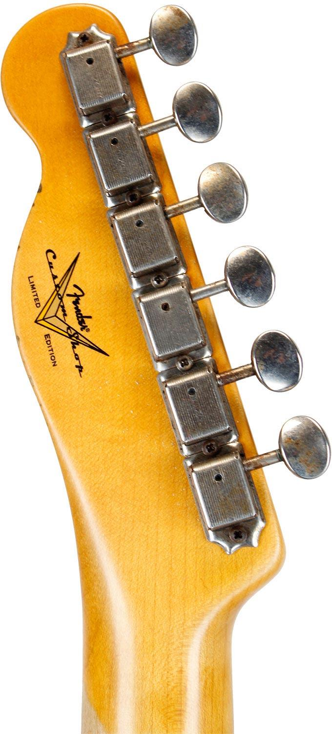 Fender Custom Shop 1955 Esquire Relic MN Aged Black Limited Edition