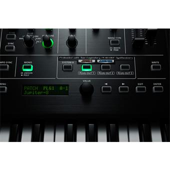 Roland SYSTEM-8 PLUG OUT Synthesizer modelling synthesizer