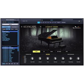 Spectrasonics Keyscape virtual instrument/sampler