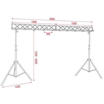 Showtec Light Bridge Set lighting bridge