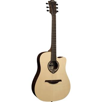 Lâg Tramontane T270DCE Natural acoustic-electric cutaway dreadnought guitar