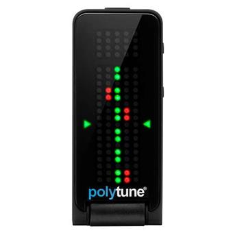 TC Electronic Polytune Clip Black clip-on stemapparaat