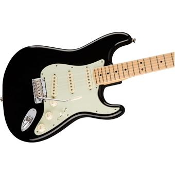 Fender American Professional Stratocaster MN Black electric guitars