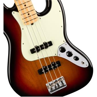 Fender American Professional Jazz Bass MN 3-Color Sunburst 4 string bass guitar