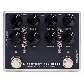 Darkglass Electronics Microtubes B7K Ultra bas DI-box/preamp pedaal