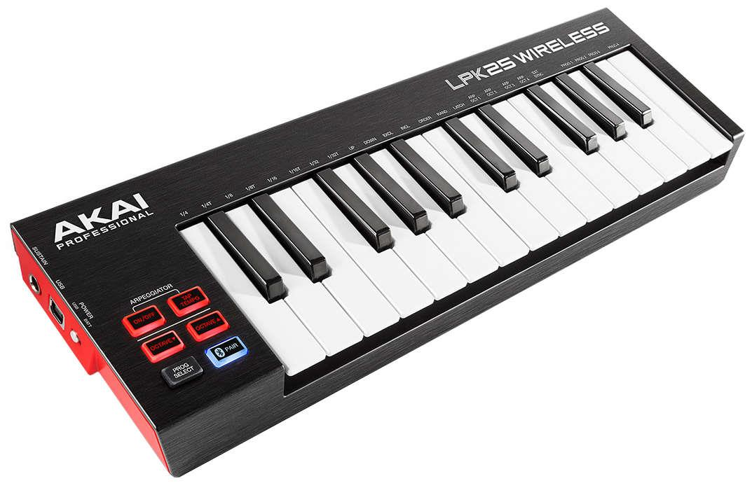 AKAI LPK25 Wireless USB MIDI keyboard